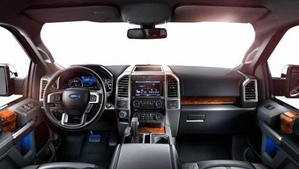 2016 Ford Raptor Interior