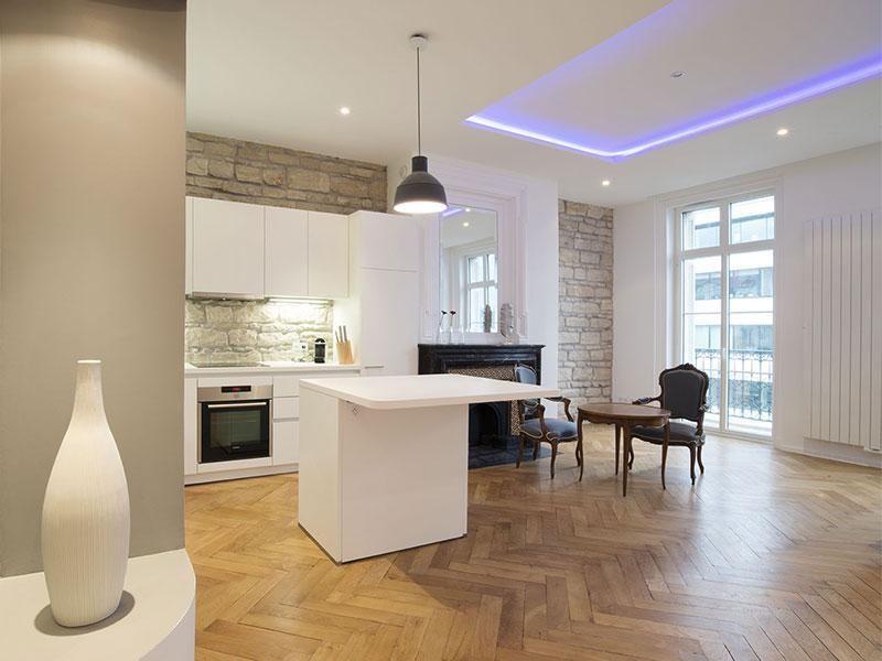 r sultat de recherche d 39 images pour am nagement piece de vie cuisine ouverte 35m2 cuisine. Black Bedroom Furniture Sets. Home Design Ideas