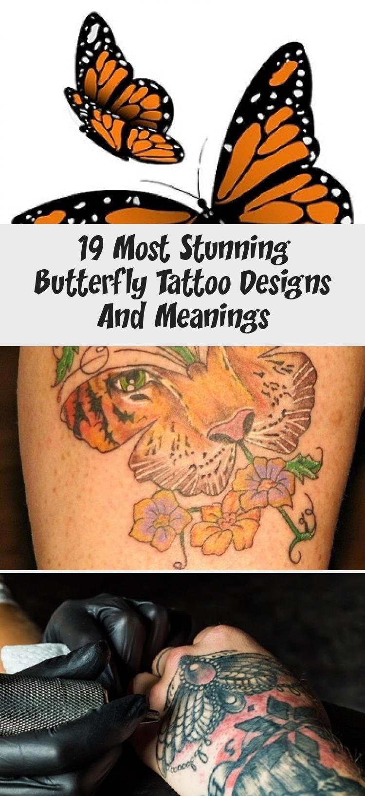 Dekoration İdeen 19 Most Stunning Butterfly Tattoo