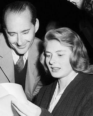 Ingrid Bergman & Roberto Rossellini