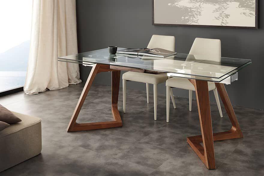 Tavolo Vetro Sala Da Pranzo.Tavoli Da Pranzo Dal Design Moderno Allungabili E Fissi Di