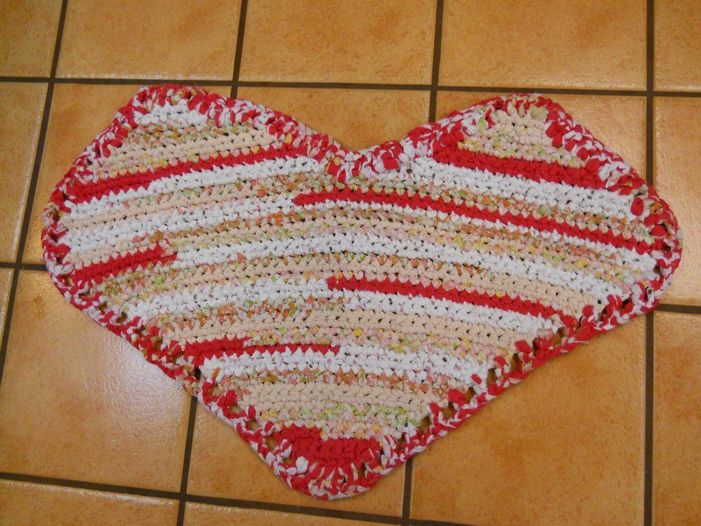 Valentines Rug Rag Rugs By Erin Newsletter Blog