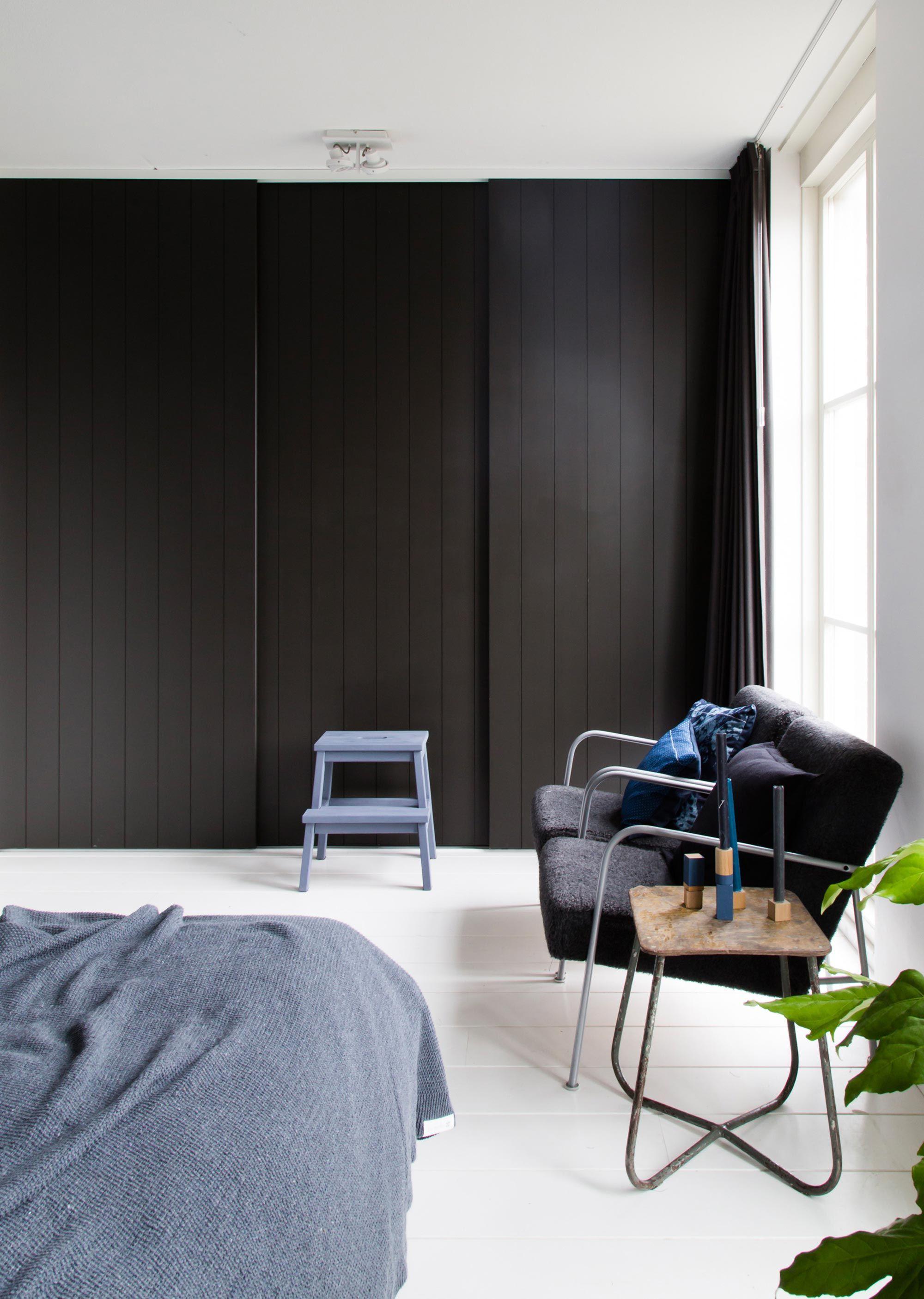 Zwarte Slaapkamer Kast.Pin De Anique Van Laarhoven En Slaapkamer Kast Slaapkamer