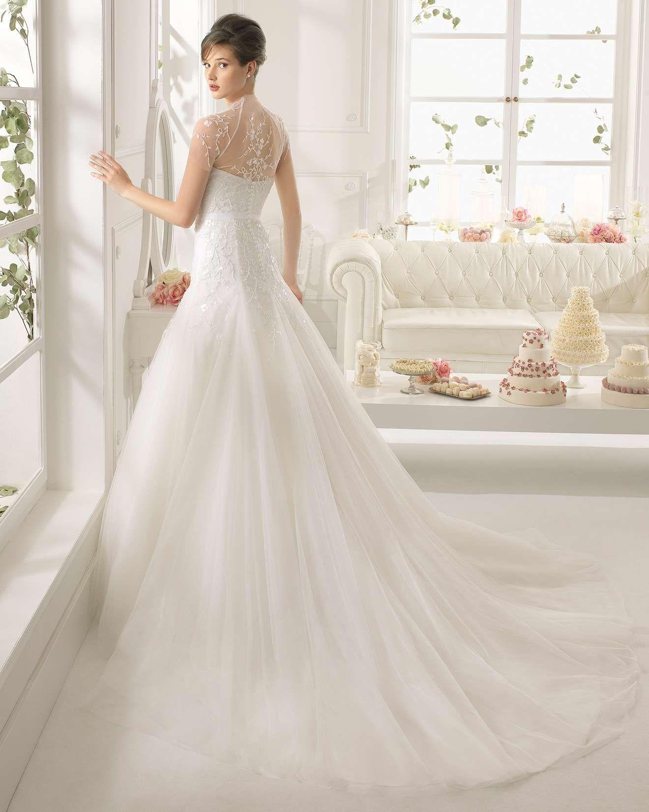 Aire barcelona wedding dresses  Платья  Американский стиль фото   идей  года на Невеста