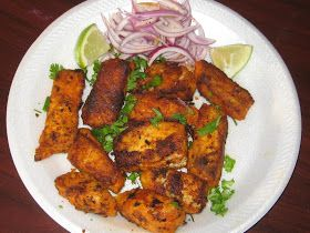 Taste of South India: Fish Fillet / Tilapia Fish Fillet Fry