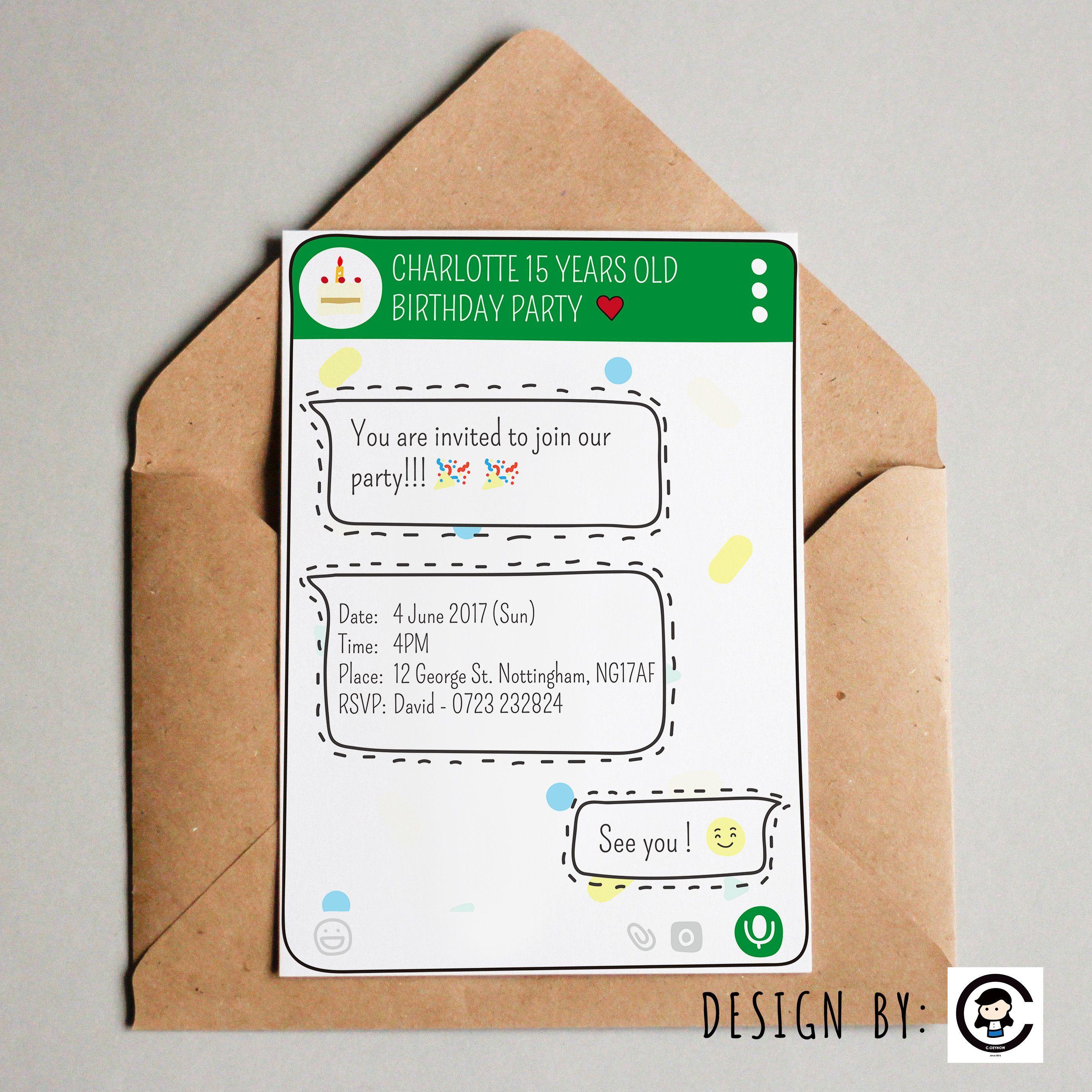Einladung Geburtstag Text Kurz Geburtstag Einladung Pinterest