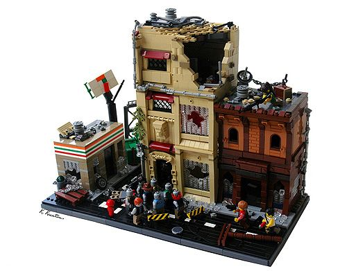 lego zombie creation the walking dead bricks of the. Black Bedroom Furniture Sets. Home Design Ideas
