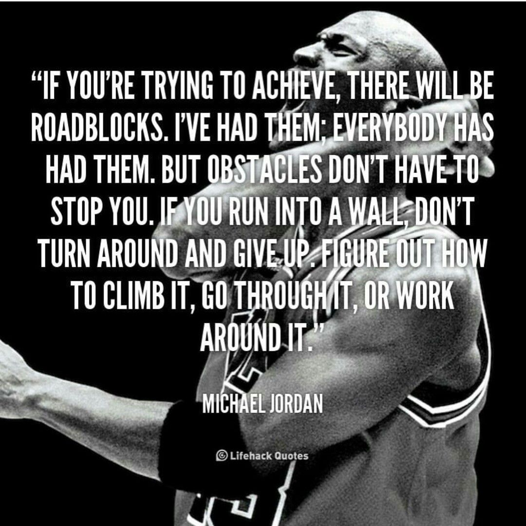 Pin by Octavia Burrell on Words to live by Sport quotes