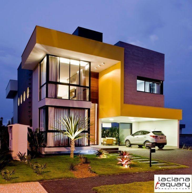 45 fachadas de casas de esquina para voc se inspirar Building and