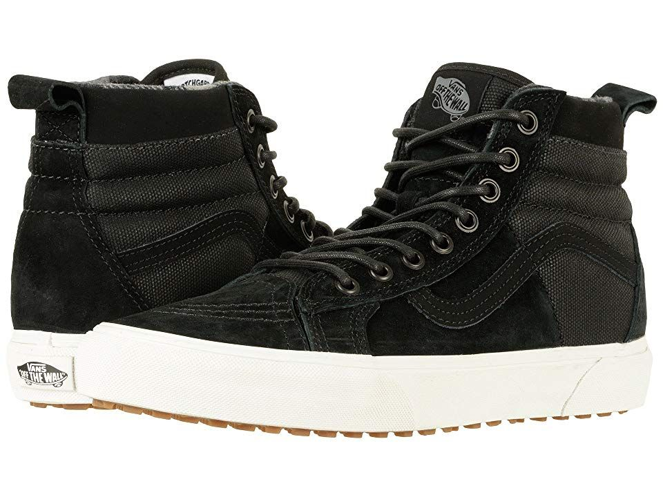 cb12d4b265 Vans SK8-Hi 46 MTE DX ((MTE) Black Flannel) Skate Shoes. Evoke the ...