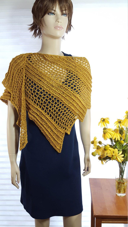 dc017e7e31d8 Crochet Shawl, Crochet Scarf, Dragon Wing Shawl, Knit Shawl, Knit Poncho,  Crochet Shrug, Knit Shrug, Wedding Shawl Dressy Shawl Evening Wrap by  GreatCrochet ...