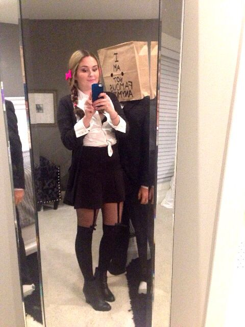halloween outfit britneyspears shia. Black Bedroom Furniture Sets. Home Design Ideas