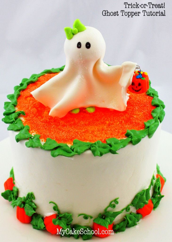 7 Cute Halloween Cake Recipes Halloween ghosts Halloween cakes