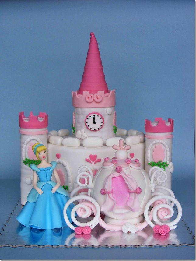 Bolo de Princesa Cinderela Os Modelos mais Incrveis para sua