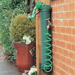 ways to store your water hose coil hose holder garden accessorie review compare - Garden Hose Storage