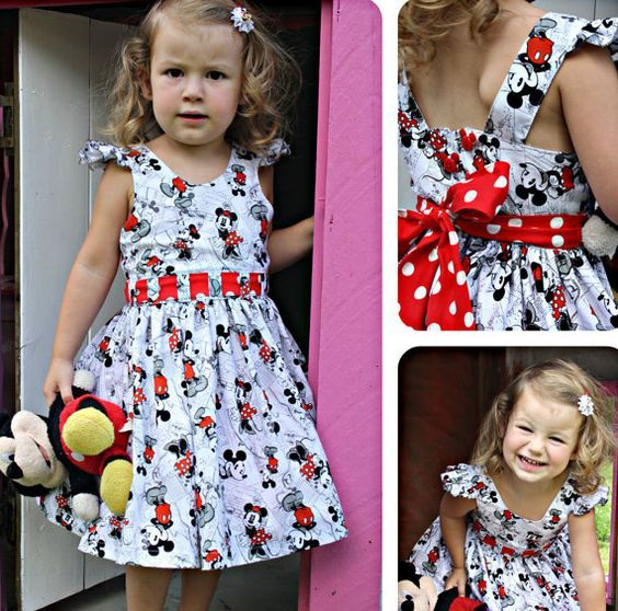 27c28b454356b Bow Peep Party Dress PDF Sewing Pattern by Ainslee Fox for little girls size  1-12