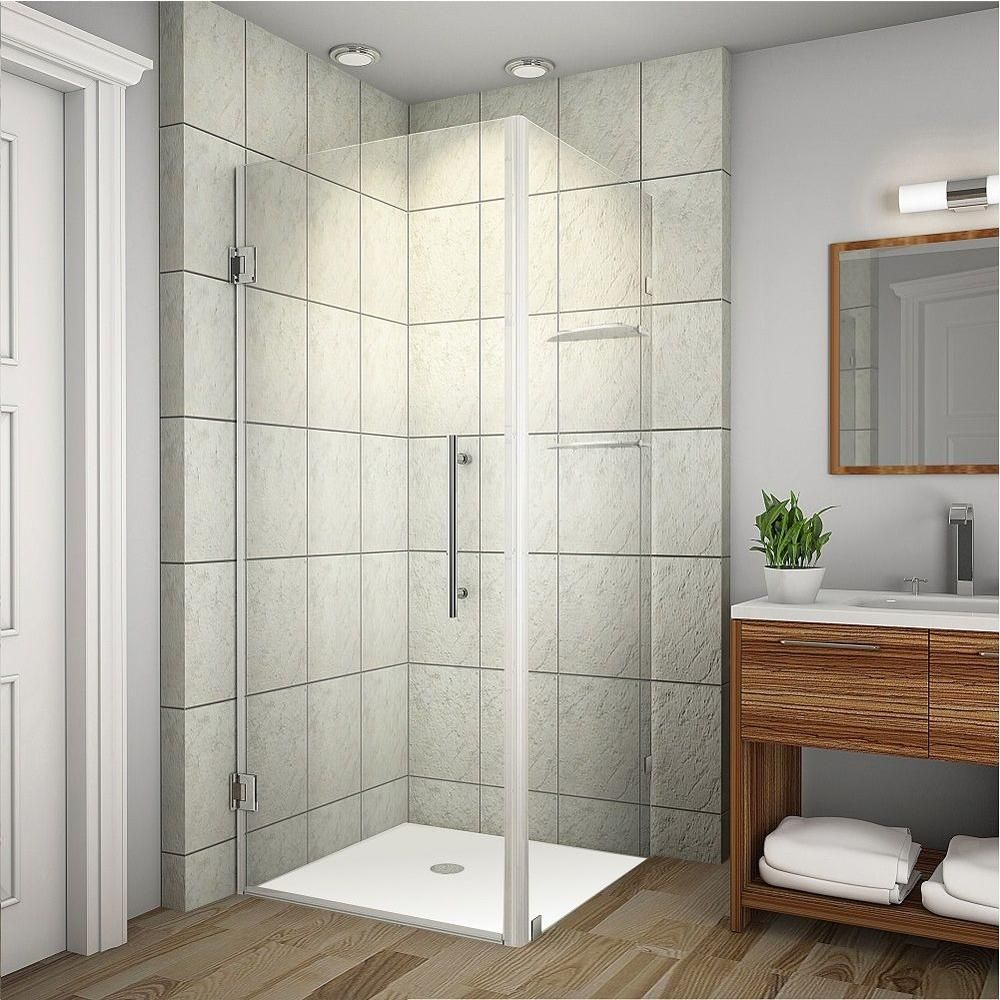 Aston Aquadica Gs 36 In X 72 In Frameless Square Shower