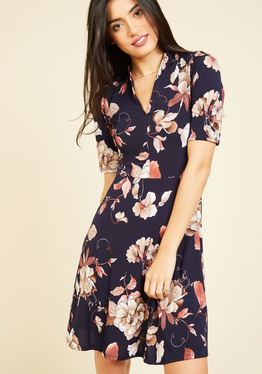 a23d677b5ab Warranted Wanderlust Dress. Inspired by this navy dress