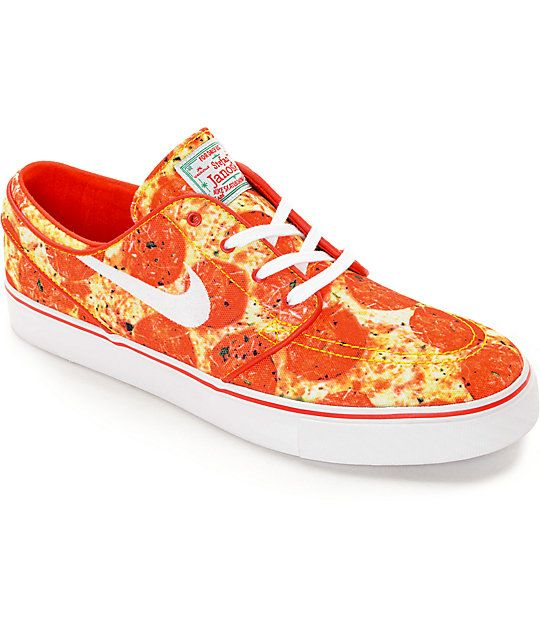 Nike SB X Skate Mental Stefan Janoski Pizza QS Skate Shoes