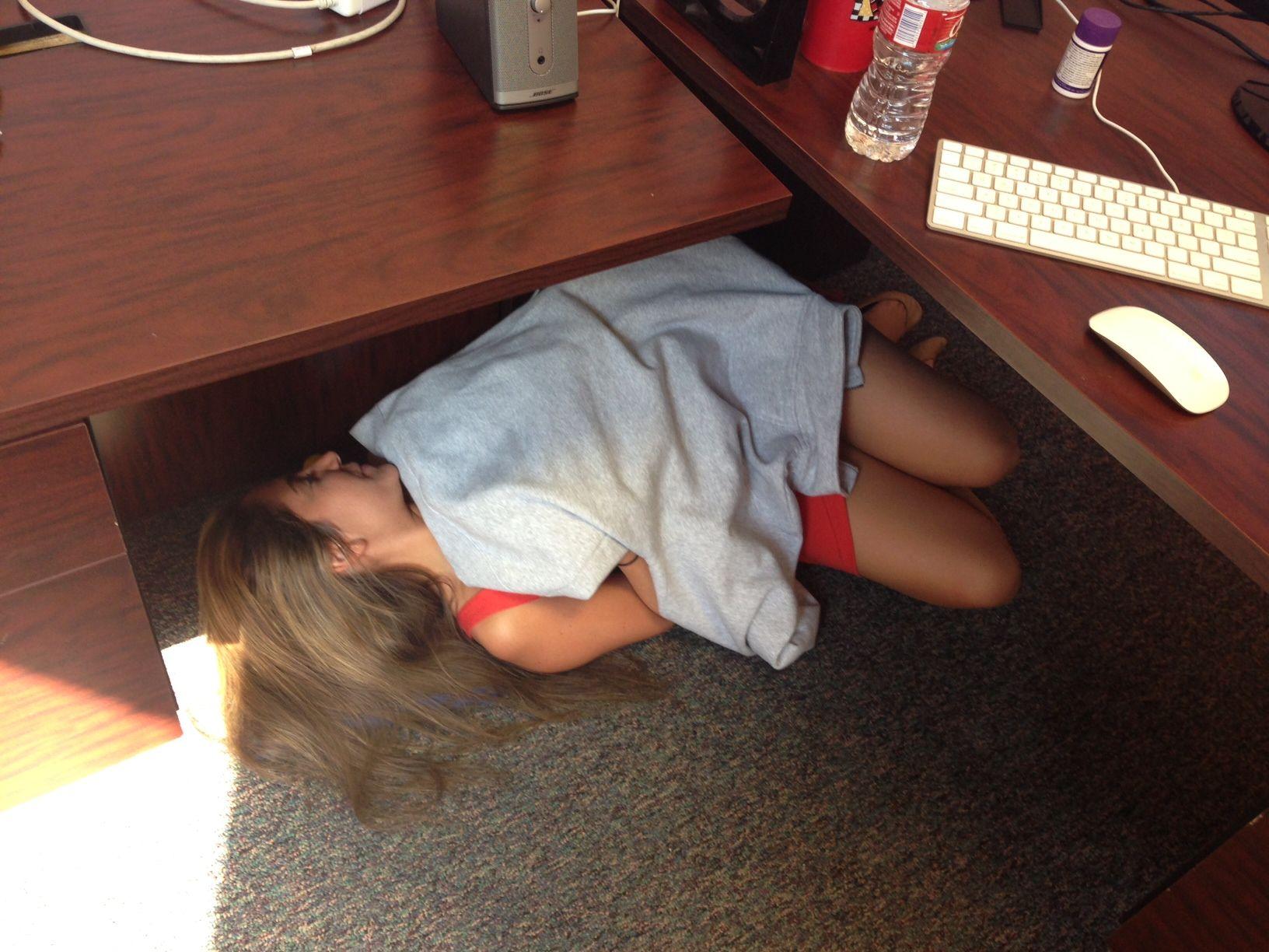 Post Grad Problems The Costanza The Under Your Desk Nap