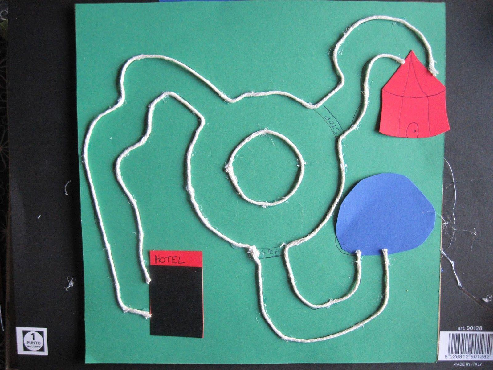 GioCoLanDia: Giochi da viaggio: una pista per le macchinine!