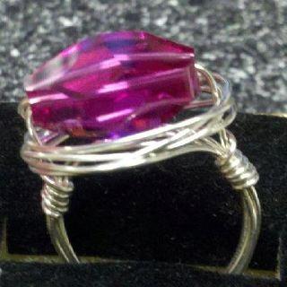 Pink nest ring