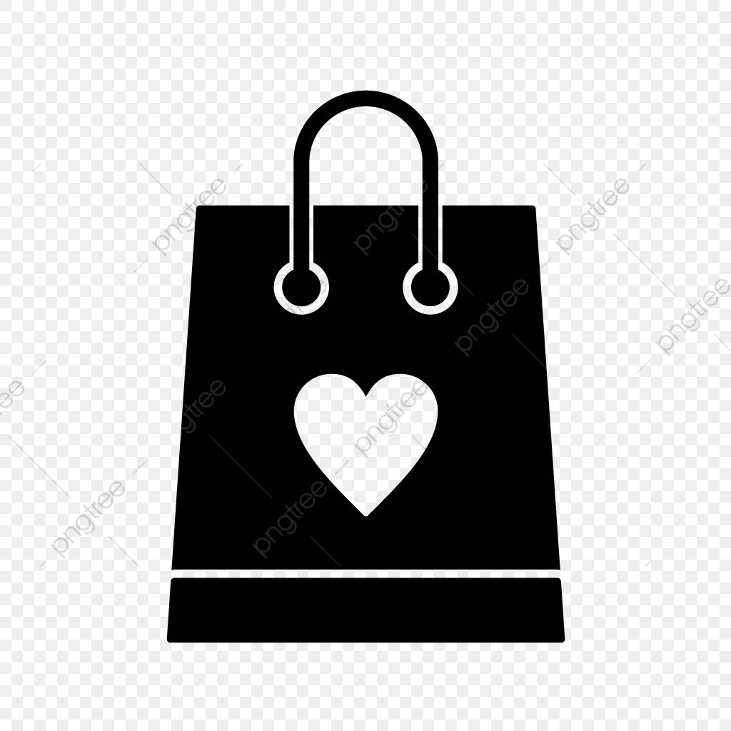 45++ Shopping bag clipart black and white info