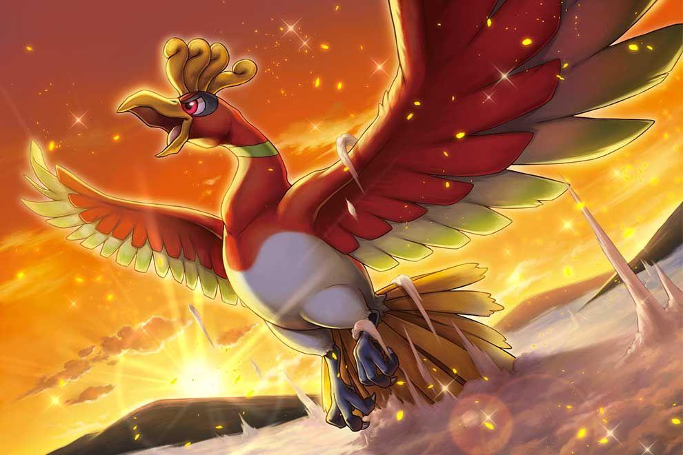 Pokemon Go Added To The Legendary Ho Oh Game Magazish Pokemon Pokemon Characters Pokemon Art