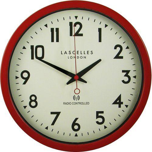 Roger Lascelles Clocks Radio Controlled 36cm Wall Clock Clock Unique Clocks Skeleton Wall Clock
