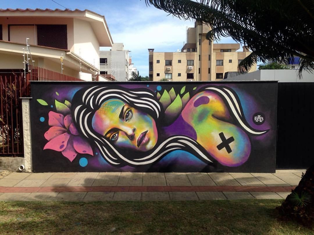 1,017 vind-ik-leuks, 3 reacties - Arte Sem Fronteiras (@artesemfronteiras) op Instagram: 'Artwork (mural) by Bruno Alvares in Brasil Instagram : @brunoalvares Facebook : Bruno Alvares…'