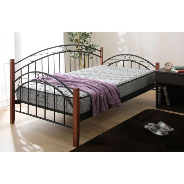 ソファとしてもベッドとしても使えるデイベッド+マットレスセット(ニューバハマ/フィルザ2)