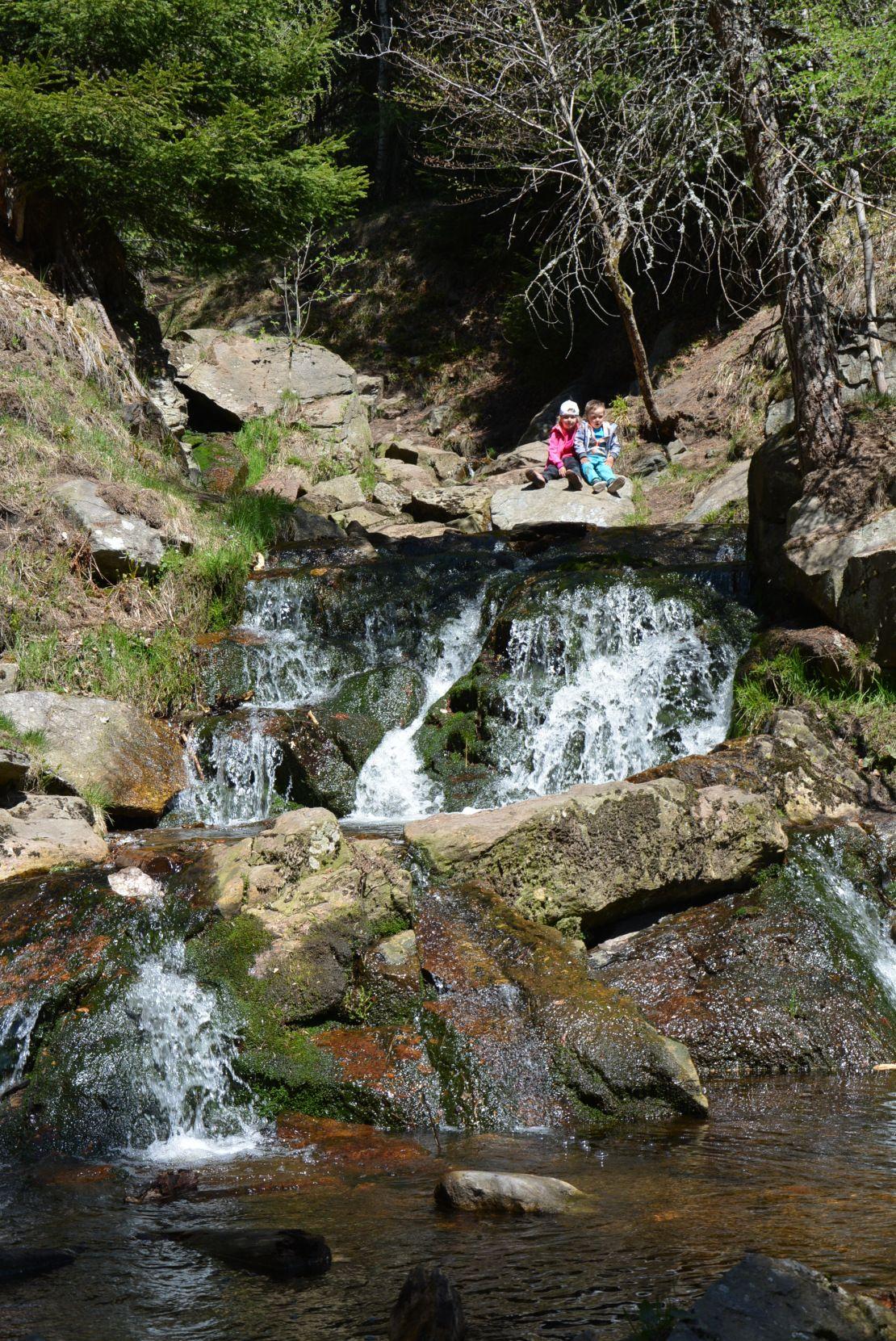 Arboretum Lesná a Helenčiny vodopády – Krušné hory s dětmi – Už tam budem?