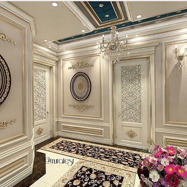 فوم جبس Luxury House Interior Design Baroque Interior Design Classic Interior Design