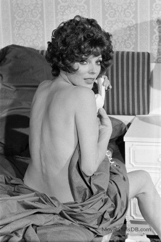 Alfie Darling - Behind the scenes photo of Joan Collins | Joan collins,  Dame joan collins, Joan