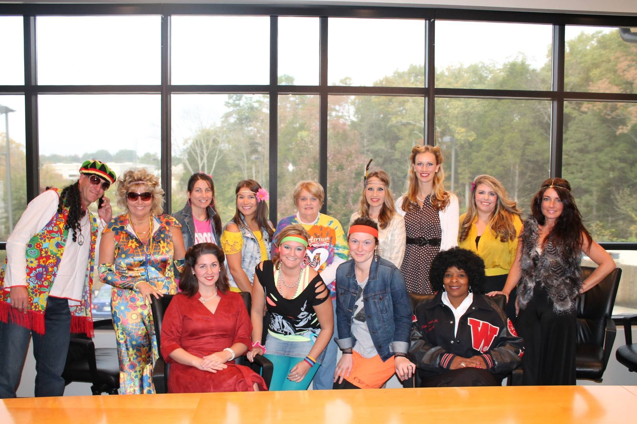 FP Corporate Office Staff on Decades Day!!! #decadesdayspiritweek FP Corporate Office Staff on Decades Day!!! #decadesdayspiritweek