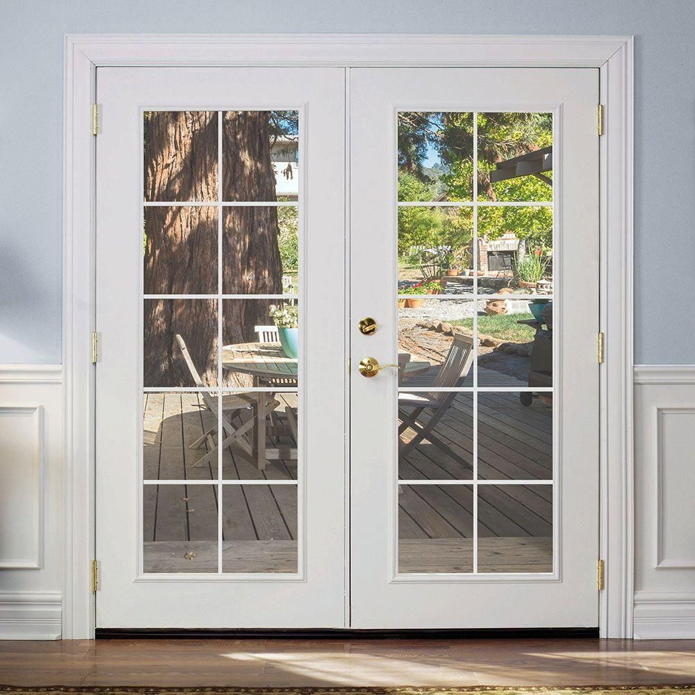 FINAL PRODUCT - French (Patio) Doors. http://www.homedepot.com/p ...