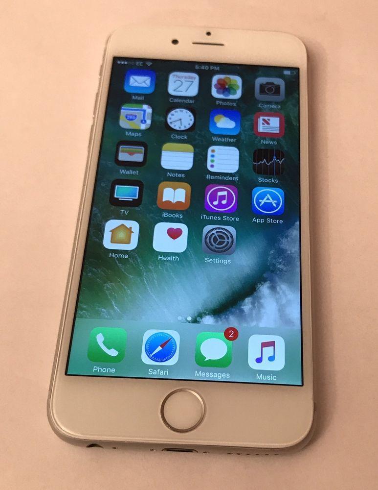 Apple Iphone 6 16gb Silver Unlocked Smartphone Very Good Condition Apple Iphone Apple Iphone 6s Plus Apple Iphone 6s