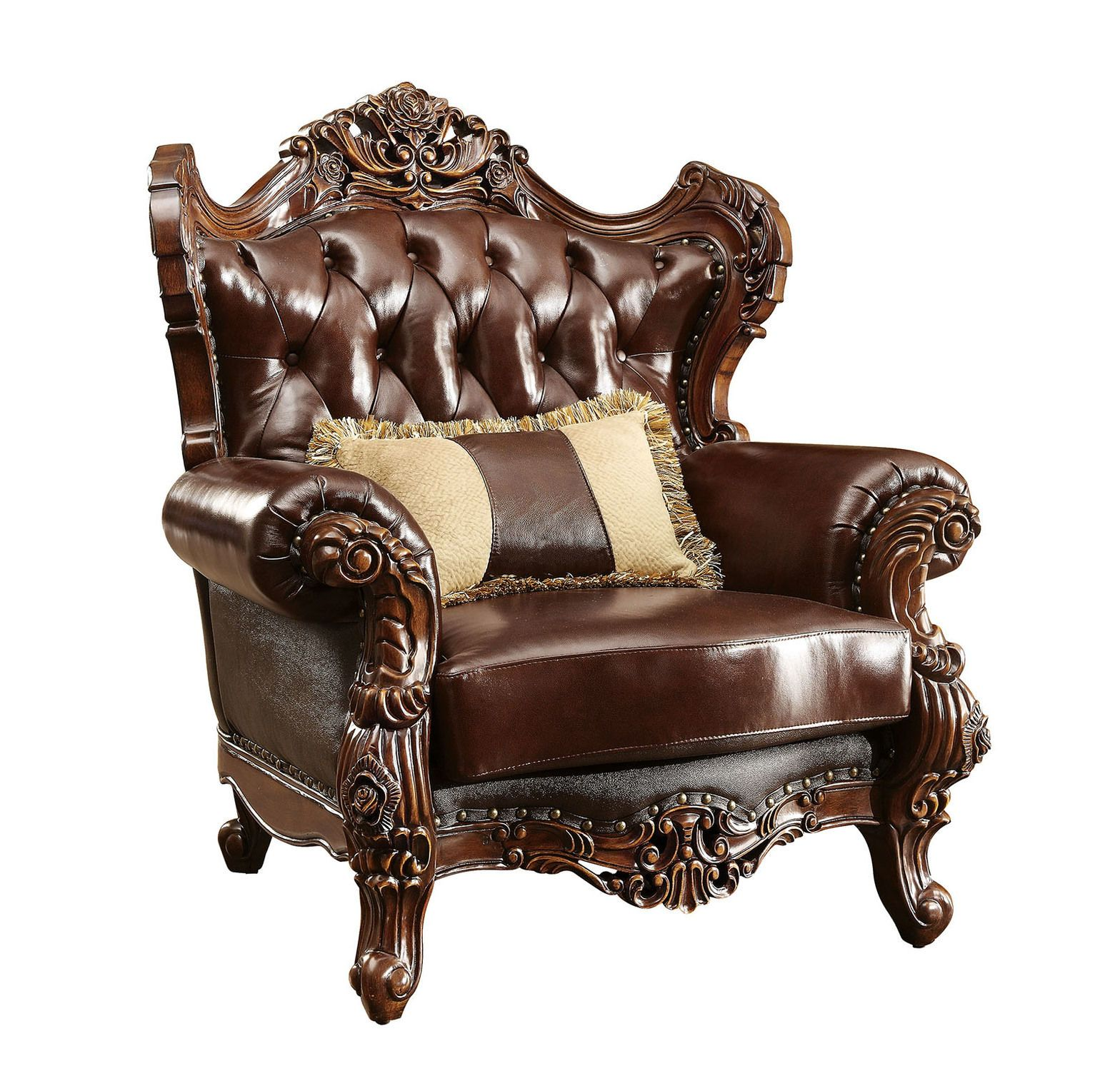 Jericho Chair Brown leather chairs, Armchair, Chair, a half