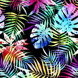19d5ca21a Bright Tropics. by Mariia Seamless Repeat Royalty-Free Stock Pattern ...