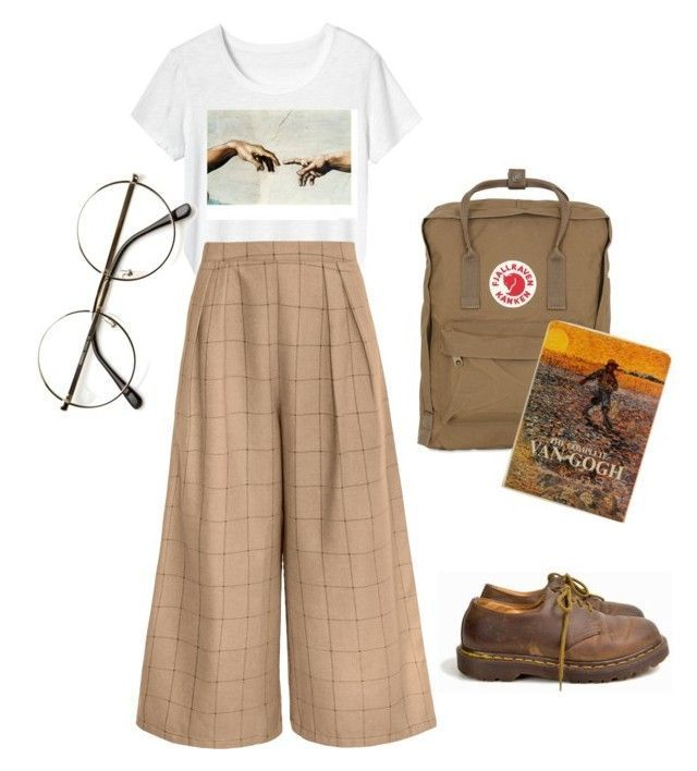 Artist by yanni-loenders on Polyvore featuring polyvore, fashion, style, Toast, Dr. Martens, Fjällräven, ZeroUV…