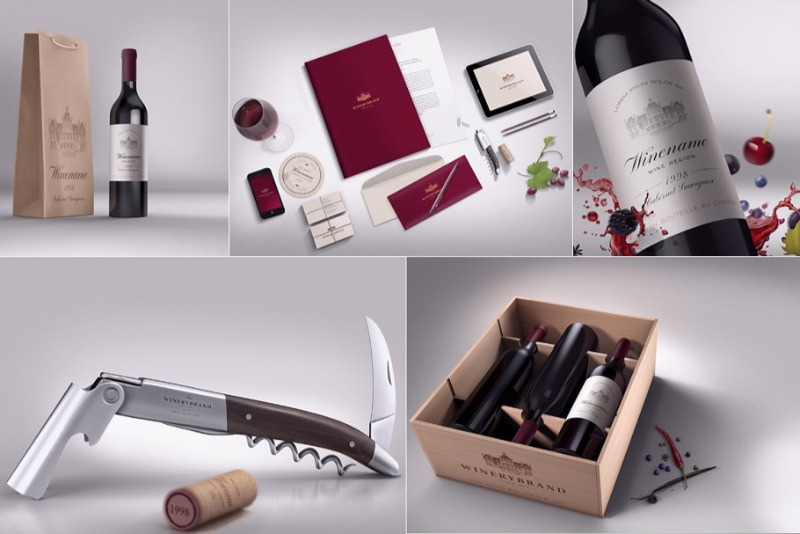 Download 15 Wine Box Mockup Packaging Psd Templates Texty Cafe Branding Wine Wine Box