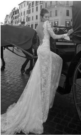 Inbal Dror BR-12-6: buy this dress for a fraction of the salon price on PreOwnedWeddingDresses.com