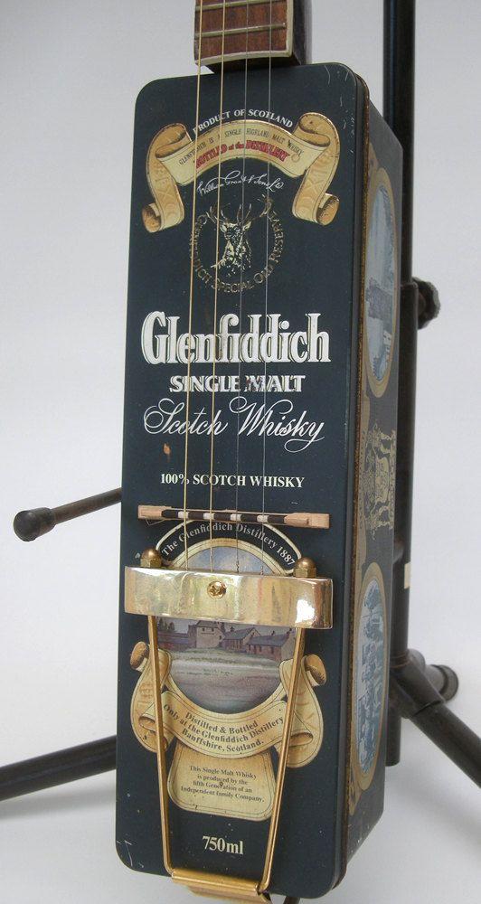 Rainy Day Instruments presents..074, Conrad Glenfiddich Handmade, custom tenor Guitar or Banjo. Can be tuned to Guitar or Tenor Banjo. Made