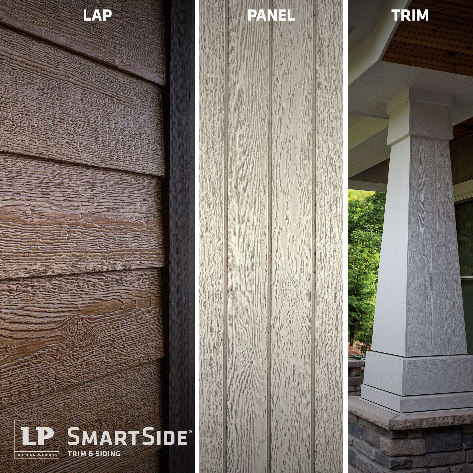 Do You Know The Difference Between Lap Siding And Panel Siding How About Trim This Interactive T Exterior Siding Options House Siding Options Siding Options