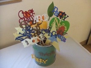 Table Decoration Ideas For Retirement Party retirement party decorations and favors Find This Pin And More On Just Good Ideas With Cricut Decorations Centerpiece For Retirement Party