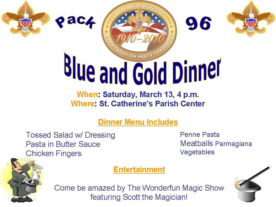 Cub Scout Blue And Gold Banquet Ideas Boys Scouts Blue Goldetc