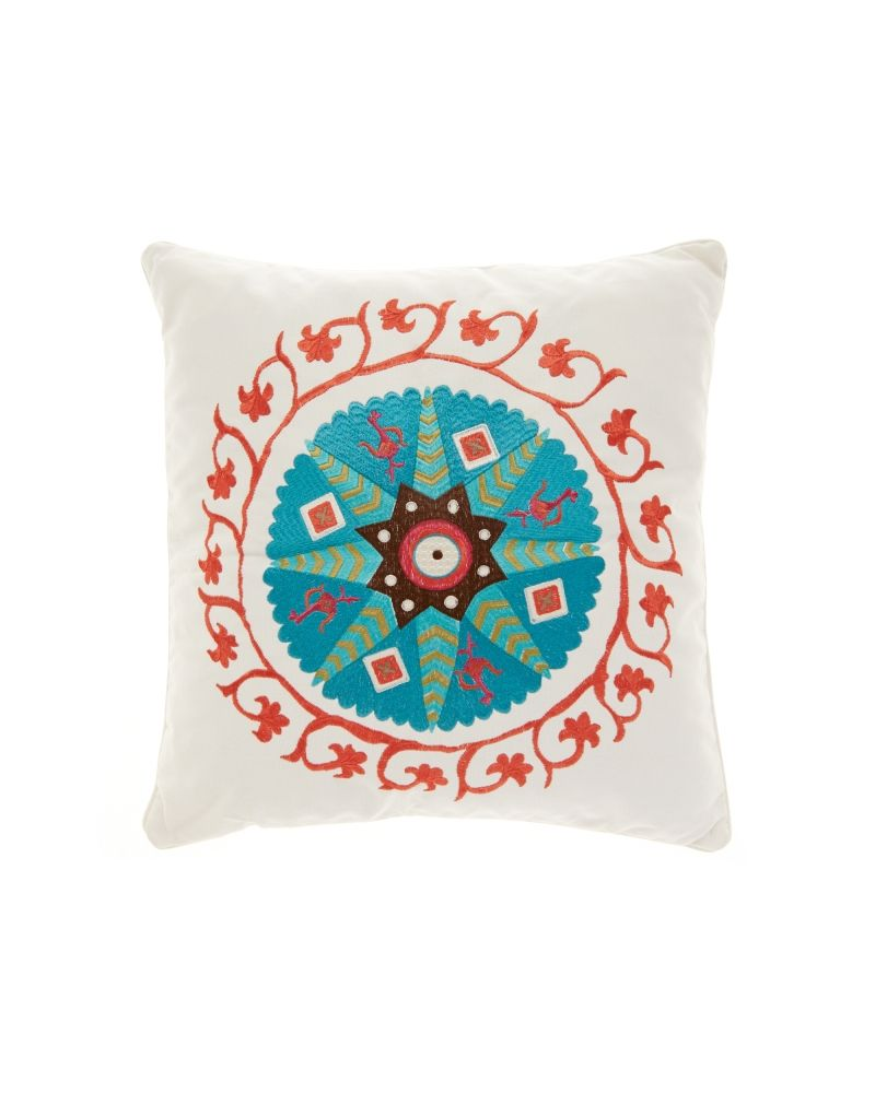 Nina Home at Stein Mart Beatrice embroidered medallion