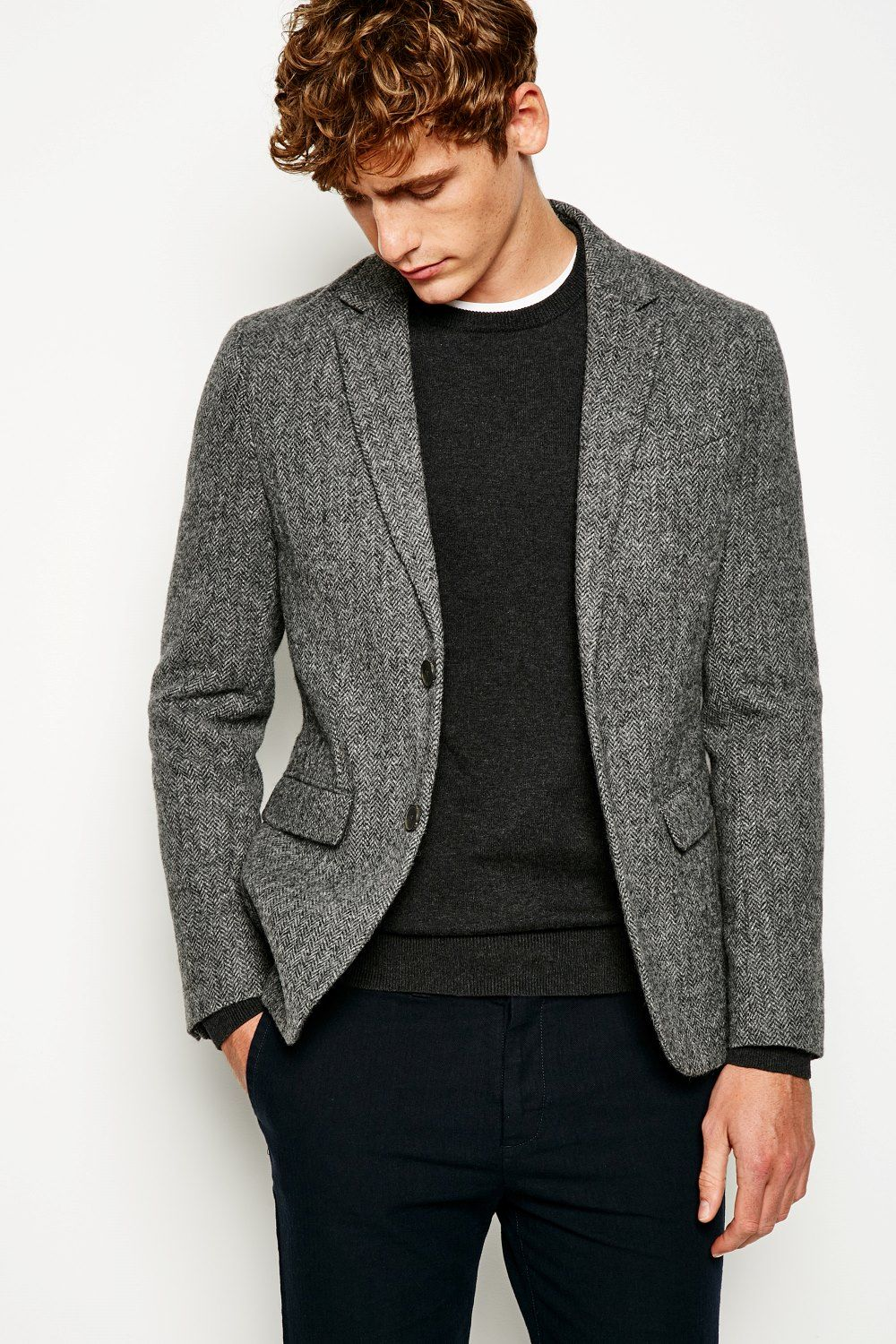 Fairfield Unstructured Tweed Blazer Jackwills Us Tweed Blazer Men Blazers For Men Mens Fashion Blazer