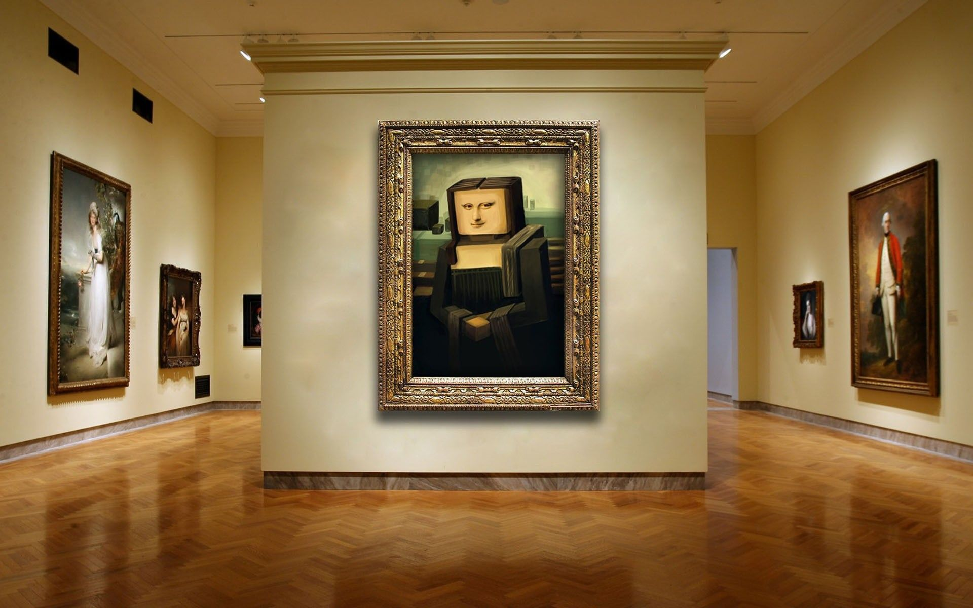 Minecraft Wallpaper For Bedroom Paintings Minecraft Wallpaper 1920x1200 Paintings Minecraft