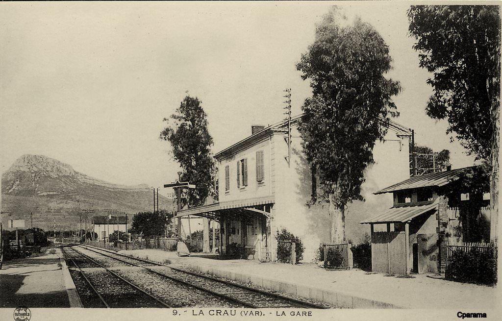 La Crau Var Carte Postale Cartes Postales Anciennes Hyeres